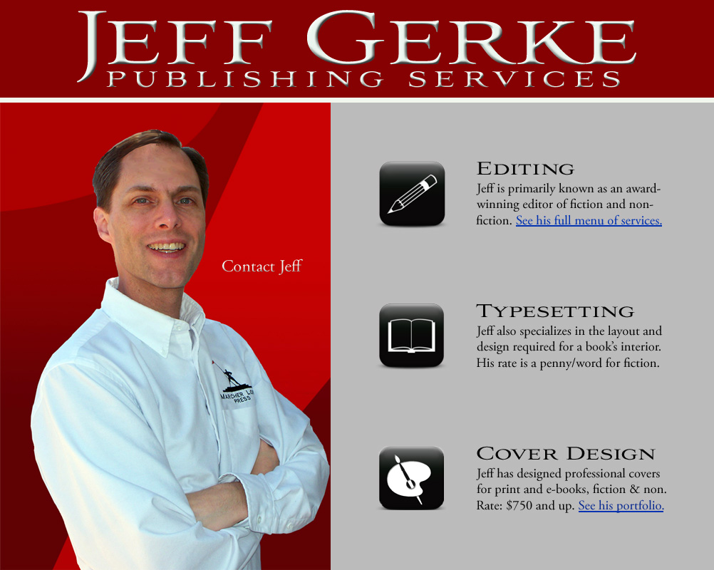 Jeff Gerke Publishing Services